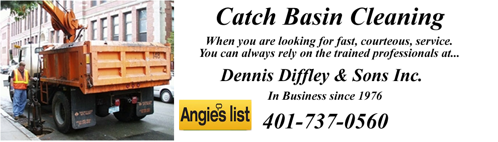 Catch Basin Cleaningdennis Diffley Drain Servicesserving All Of Ri